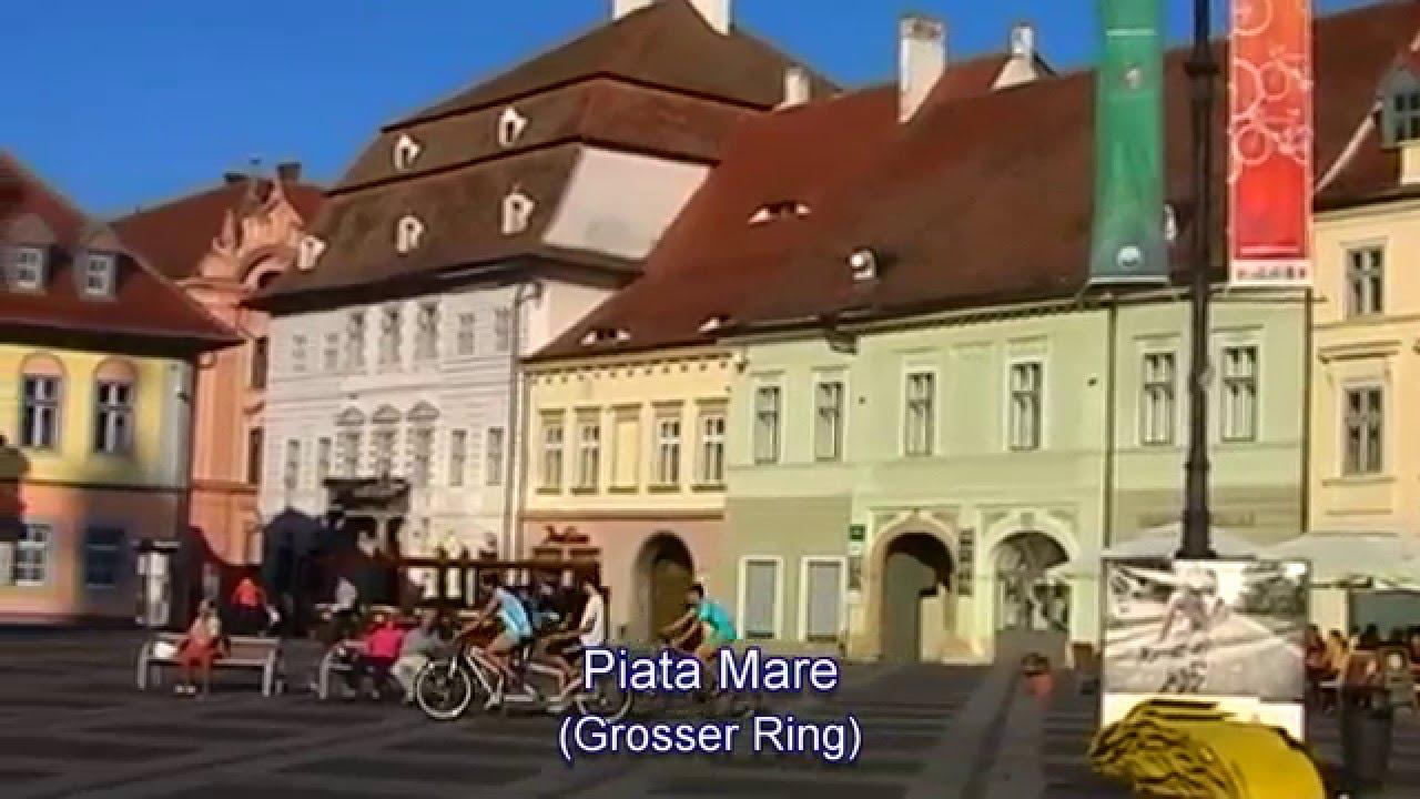 Siebenbürgen - Hermannstadt (Sibiu) Blick vom Turm der ...  |Hermannstadt