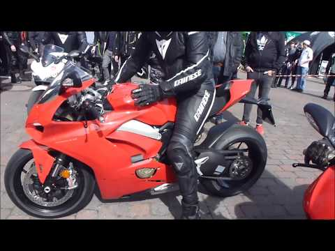 2018 Ducati Panigale V4 S SOUND 226 Hp 315 Km/h 195 mph * Playlist