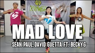MAD LOVE by Sean Paul, David Guetta Ft. Becky G | Jingky Moves | Zumba | Dance Fitness