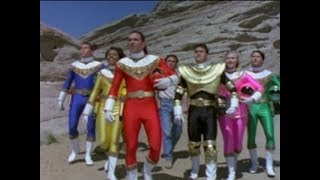Power Rangers Zeo - A Golden Homecoming - Super Zeo Gems and Zords