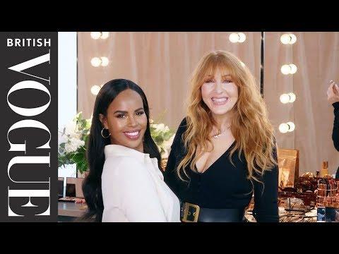 Sabrina Elba's Wedding Make-Up Tutorial, By Charlotte Tilbury | British Vogue thumbnail