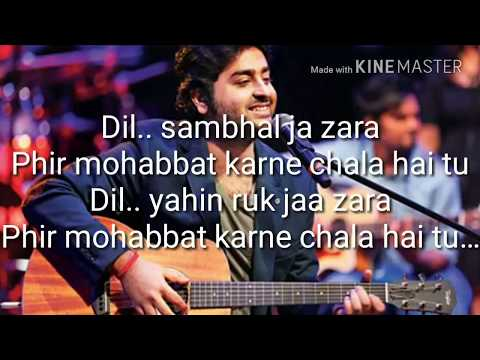 Arijit Singh Mashup Karaoke with Lyrics | Mirchi Music Award 2014