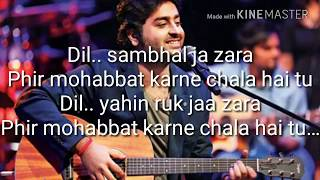 arijit-singh-mashup-karaoke-with-mirchi-music-award-2014