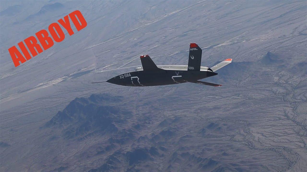 Kratos XQ-58A Valkyrie UAS First Flight
