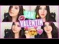 MAQUILLATE CONMIGO para SAN VALENTIN!! | Sarai♥