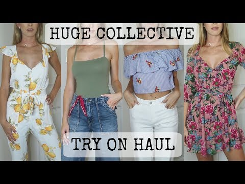 HUGE COLLECTIVE CLOTHING HAUL + TRY ON, For Love and Lemons, Forever 21, Anthropologie