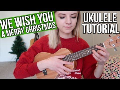 We Wish You a Merry Christmas | UKULELE TUTORIAL