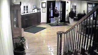 Surveillance video: Robbery at Country Inn & Suites
