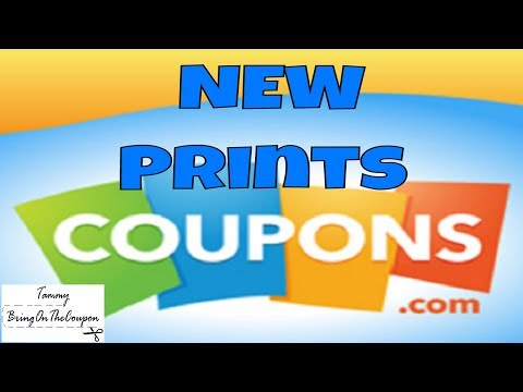 New Coupons To Print And Coupons In The Mail 10/11/17
