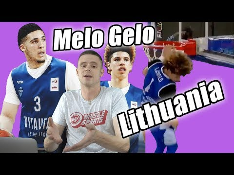 The Professor Reacts to Lamelo Ball 40 Pt Triple Double Lithuania & Lavar Ball Coaching Debut