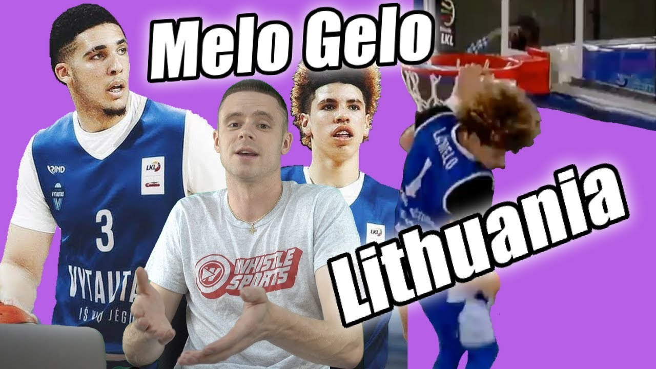lavar ball coaches lamelo to a 40 point triple double in 4