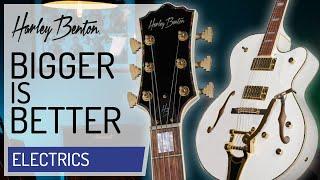 Harley Benton - Big Tone Trem - White - Vintage Series - Presentation -