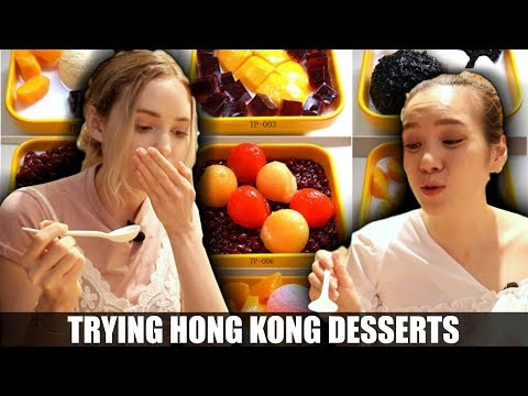 What Dessert Is Like In Hong Kong   Eating Food With Foodies On Friday Ep. 3