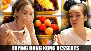 What Dessert Is Like In Hong Kong | Eating Food With Foodies On Friday Ep. 3