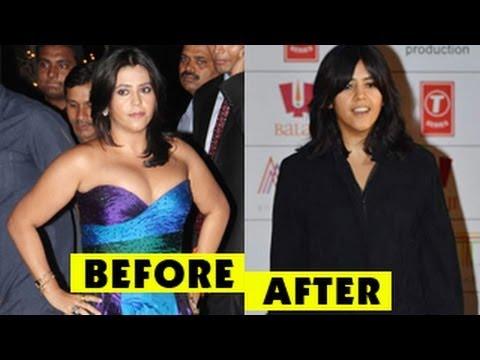 Ekta Kapoor's SHOCKING WEIGHT LOSS - YouTube