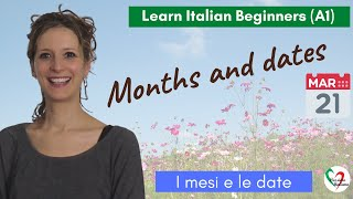 Learn Italian: months and dates