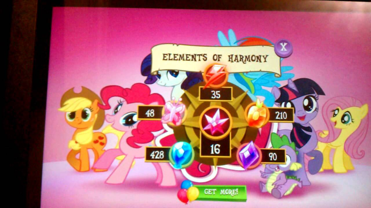 My Little Pony Gameloft Glitch Update MLP YouTube