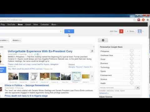 How to Remove Google News Section