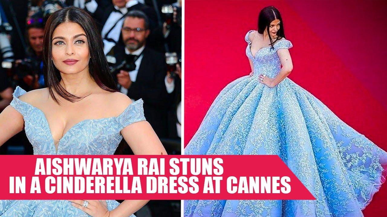 Aishwarya Rai Stuns In A Cinderella Dress At Cannes 2017