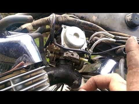 how to xv250 vstar virago carburetor and intake boot install 600 Yamaha Virago