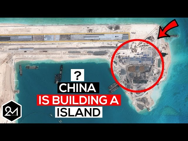 Shocking Reason Why China Is Building Islands In South China Sea!
