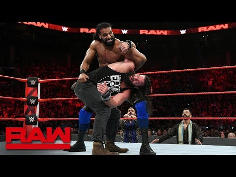 Elias vs. Jinder Mahal: Raw, Oct. 29, 2018
