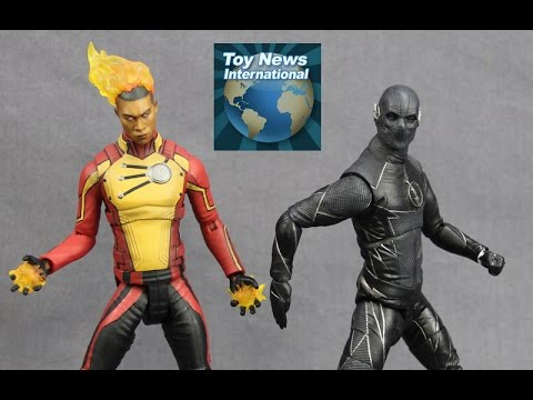 """DC Collectibles DCTV 7"""" DC Legends Of Tomorrow Firestorm & The Flash TV Series Zoom Figures Review"""