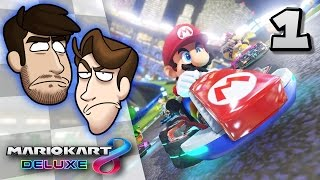 Mario Kart 8 Deluxe VS - EP 1: Chinese Dubs | SuperMega