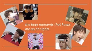 the boyz moments that keeps me up at night