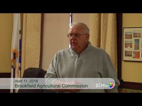 """Brookfield Agricultural Commission presents """"Beekeeping"""""""