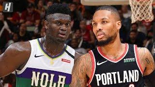 Portland Trail Blazers vs New Orleans Pelicans - Full Highlights   Feb 11, 2020   2019-20 NBA Season