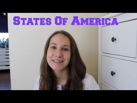 British naming the states of America !