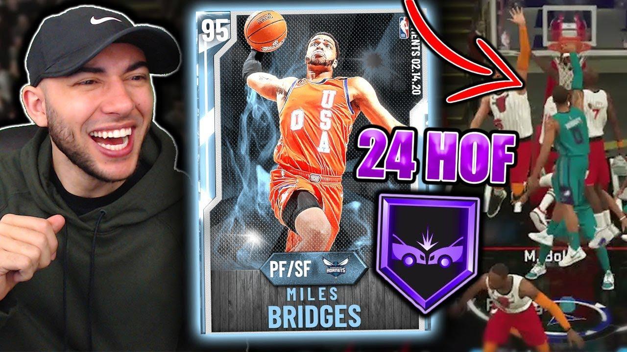 NBA 2K20: How To Get Miles Bridges' Rising Star MVP Diamond ...