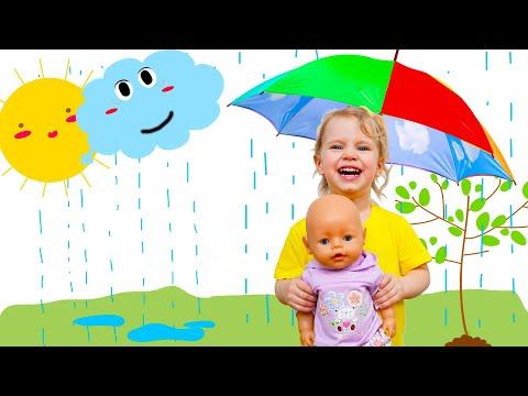 Кукла Беби Бон Ляля попала под дождь и простудилась