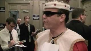 "Curtis Sliwa as ""King Cuomo II"""