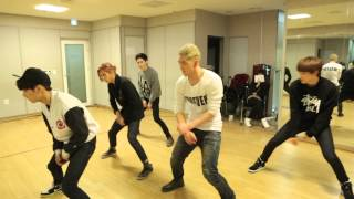 Repeat youtube video 【Kstyle】NU'EST、デビュー2周年記念ライブ練習風景~「Action」Right編~