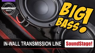 Adapting Transmission-Line Bass Technology to PMC In-Wall Speakers - SoundStage! Shorts (Dec. 2020)