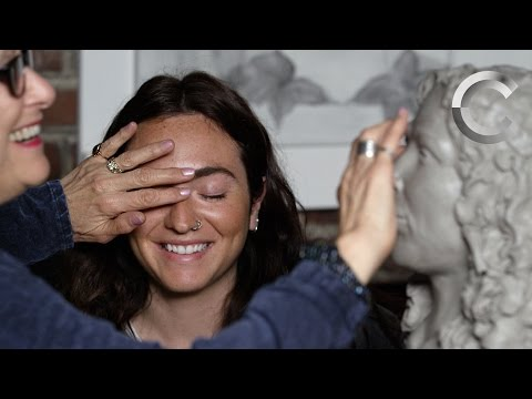Blind People Describe Loved Ones to a Sculptor | Blind Peopl