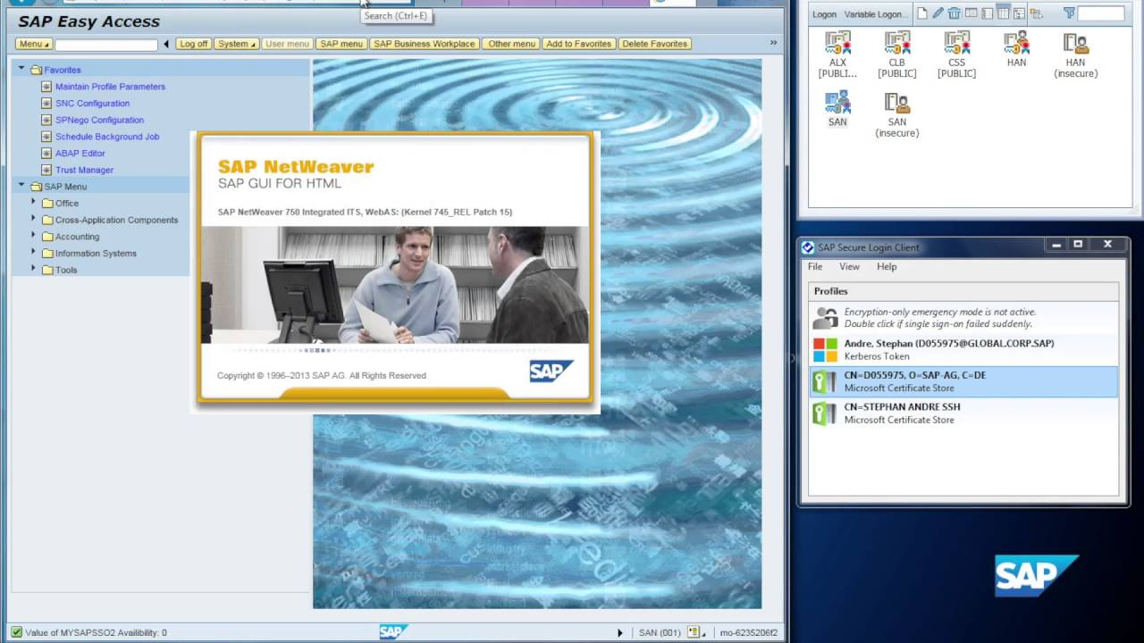 SAP Single Sign-On 3 0 - Certificate Lifecycle Management, Part 2/2:  Finalization