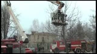 м. Запоріжжя: на пожежі вогнеборці врятували двох людей