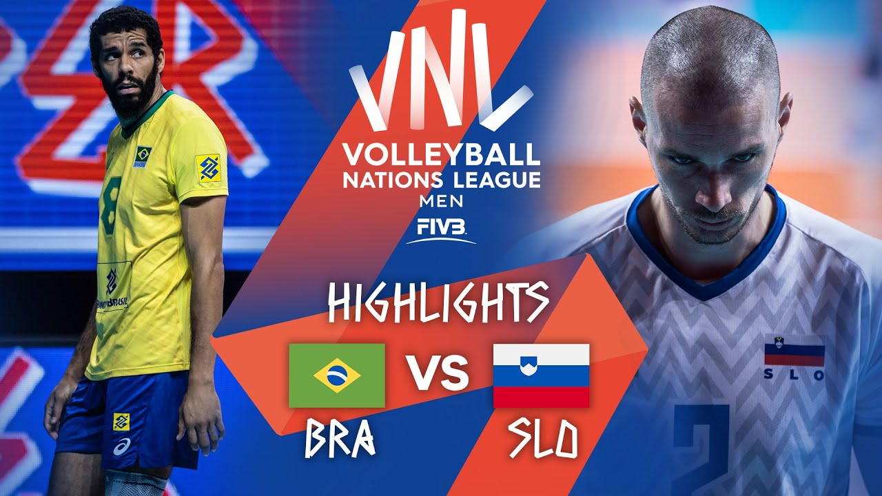 Download BRA vs. SLO - Highlights Week 4 | Men's VNL 2021