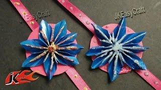 DIY Paper Rakhi for Raksha Bandhan | How to make |JK Easy Craft for kids 032