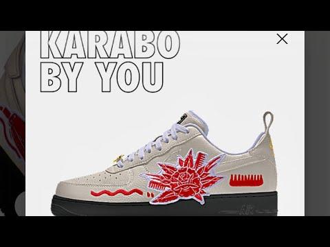 Hong Kong Cuadrante Pila de  KARABO】NIKE AIR FORCE1 KARABO BY YOU - YouTube