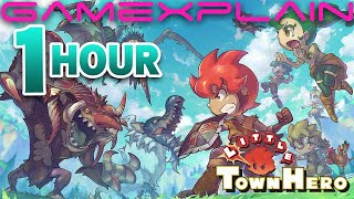 1 Hour of Little Town Hero Gameplay!