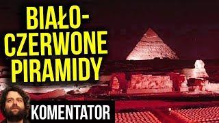 Biało Czerwone Piramidy w Egipcie i Chrystus w Rio - WSPÓLNY Marsz Niepodległości 2018 - Komentator