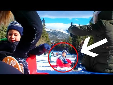 Almost Lost Our Baby Down The Mountain!