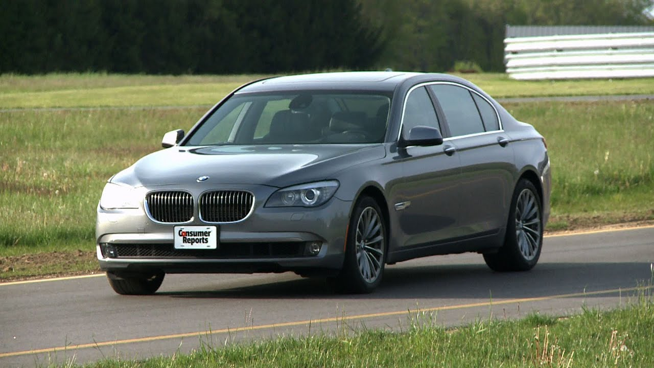 Bmw 7 Series Review Updated Consumer Reports Youtube 2011 740li