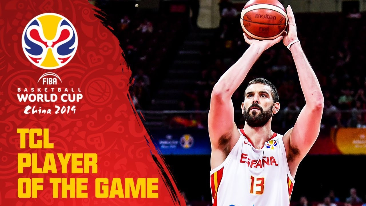 Marc Gasol | Spain v Australia | TCL Player of the Game