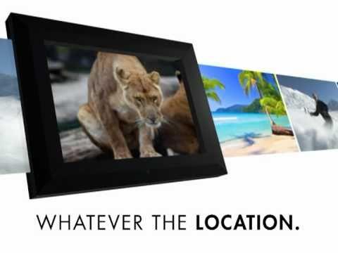 KitVision 15 inch Digital Photo Frame in Black ( Funky House ...