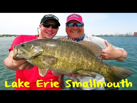 Lake Erie Smallmouth Fishing